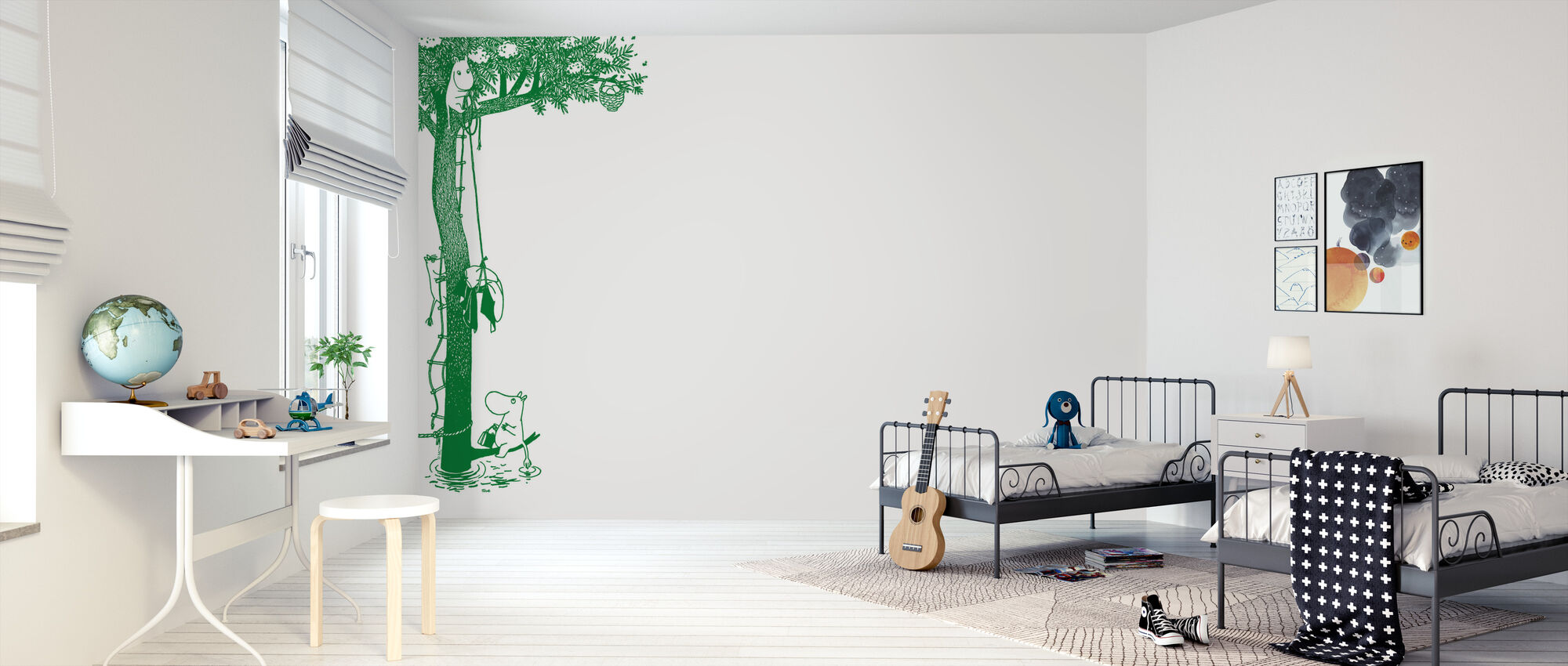 Moomin - Tree - Wallpaper - Kids Room