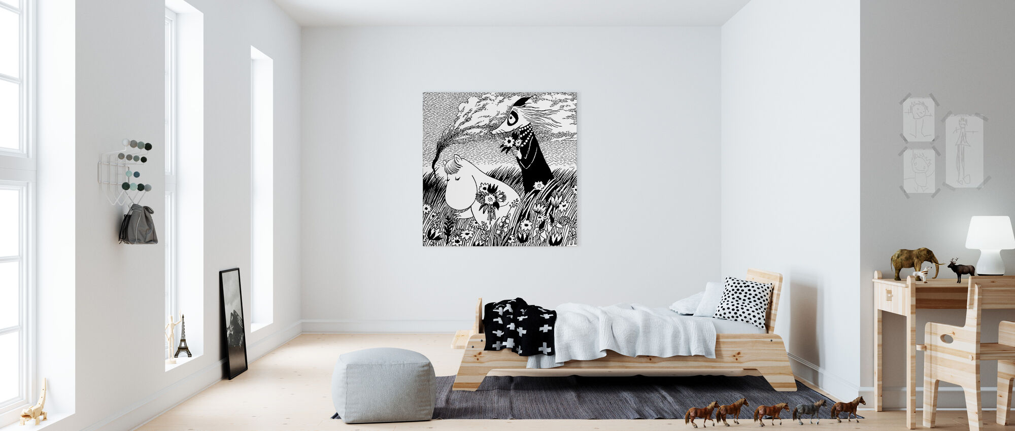 Moomin - Meadow - Canvas print - Kids Room