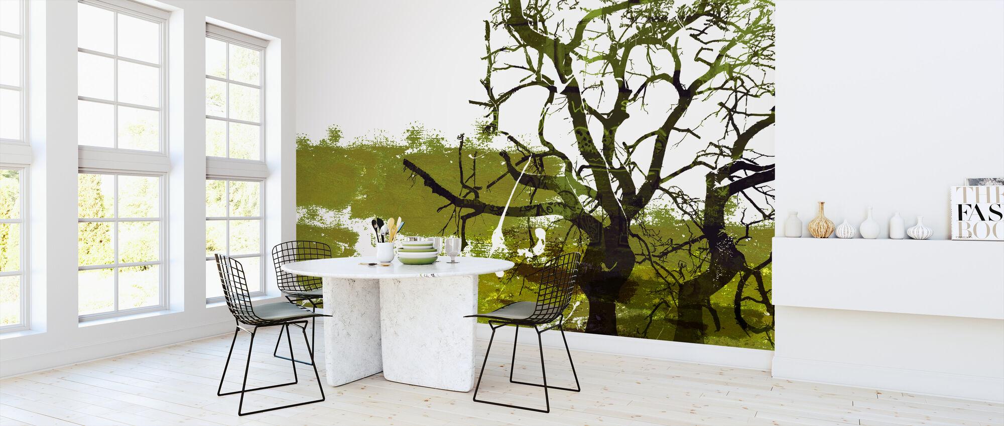 Urban Tree - Wallpaper - Kitchen