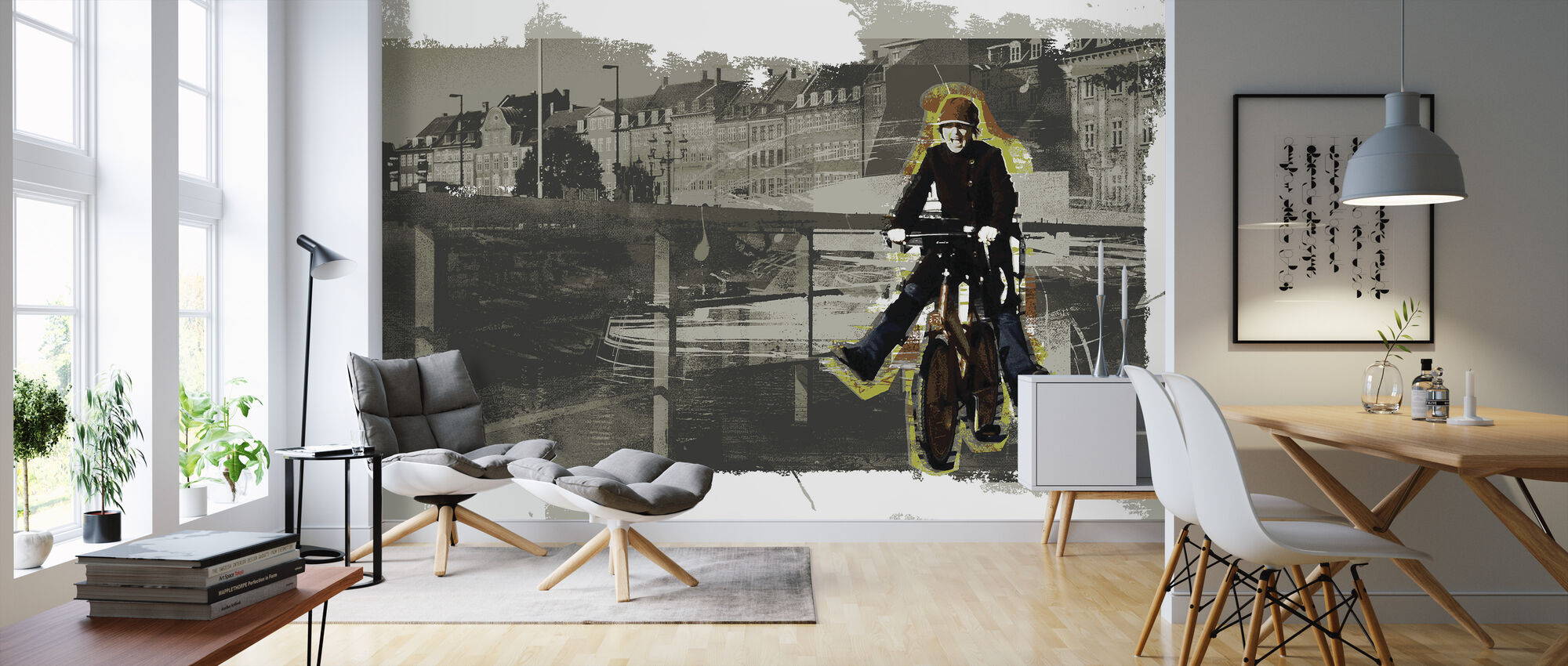 Copenhagen - Wallpaper - Living Room