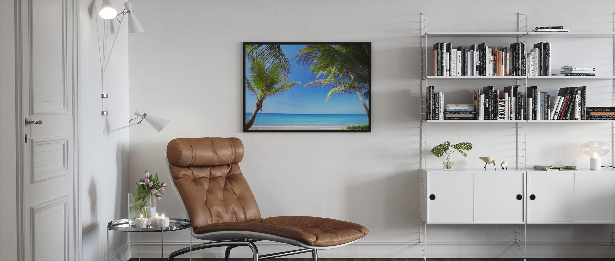 Relaxation - Framed print - Living Room