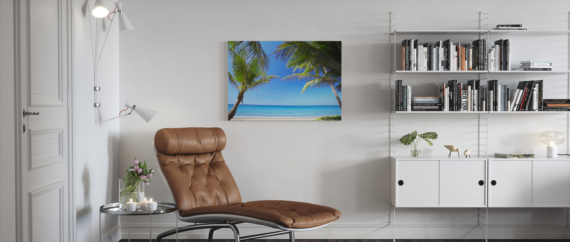 Relaxation - Canvas print - Living Room