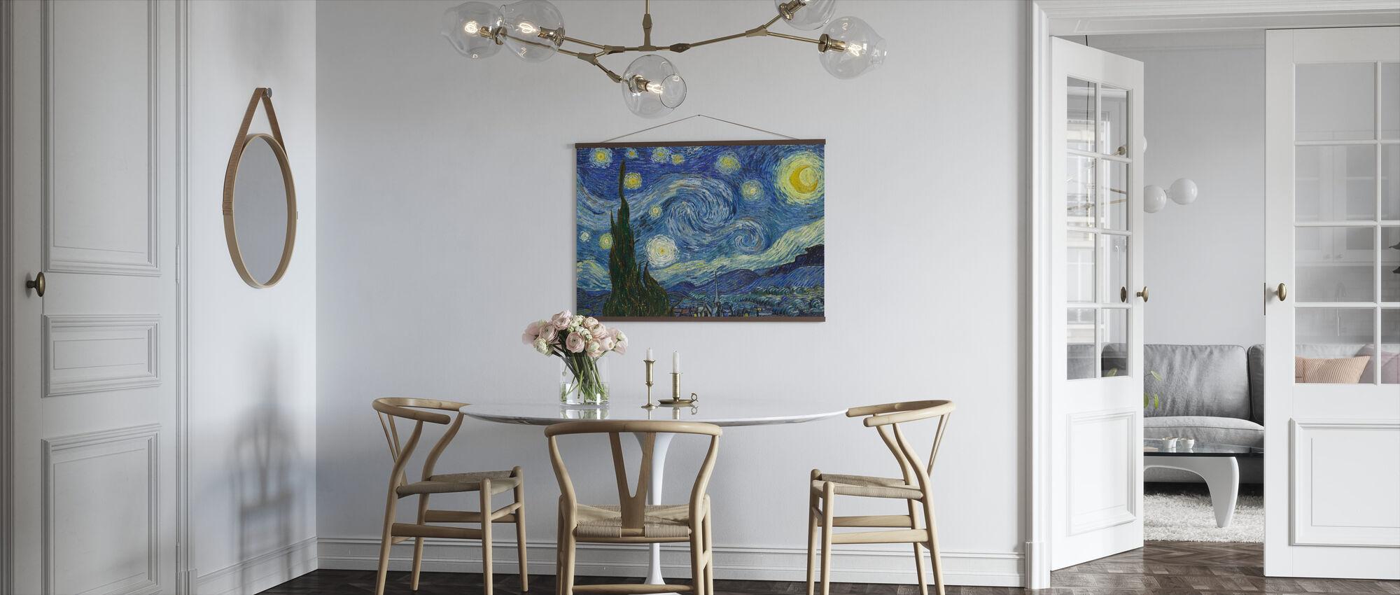 Vincent Van Gogh - Stjernehimmel - Plakat - Kjøkken
