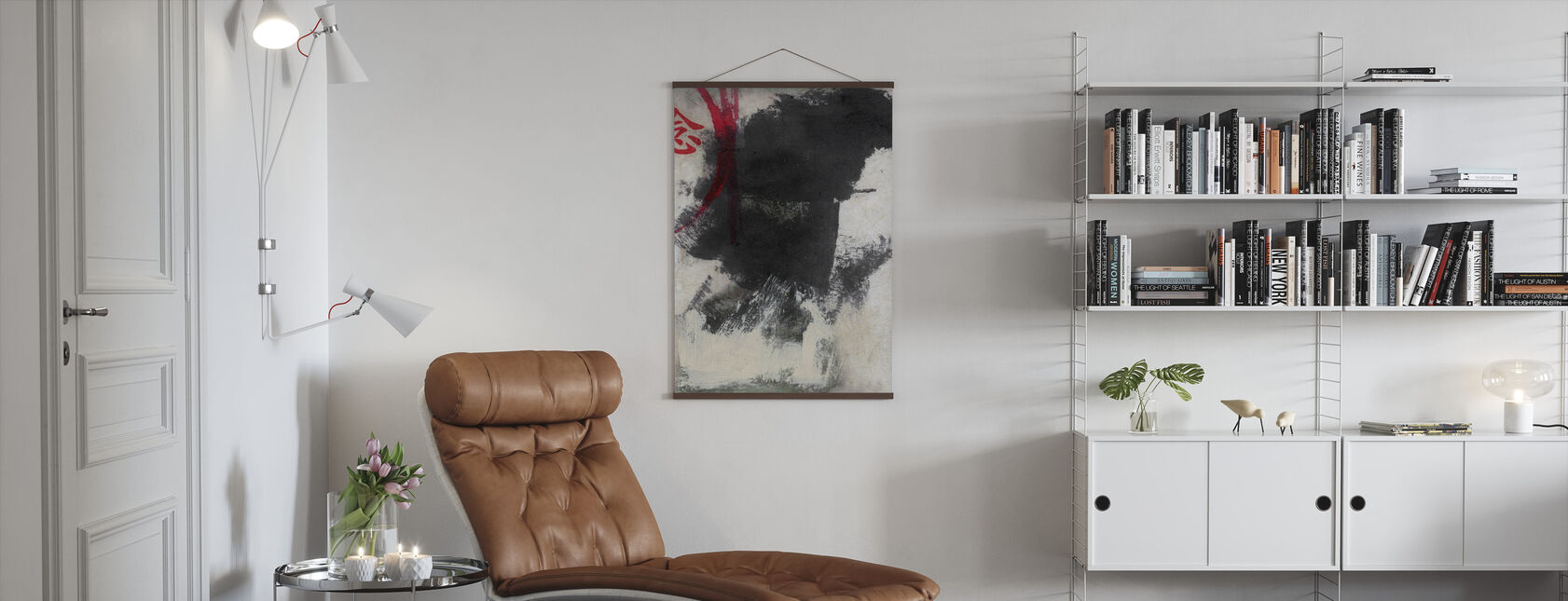 Chinese Character - Thought - Poster - Living Room