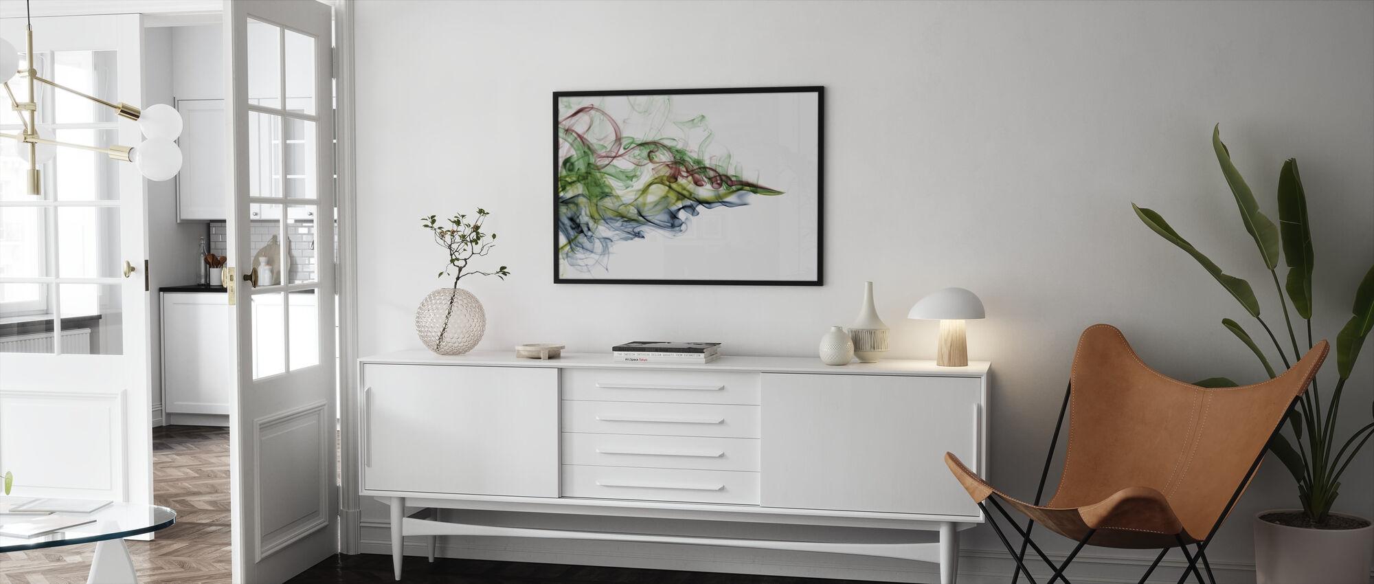 Väri Savu - Kehystetty kuva - Olohuone