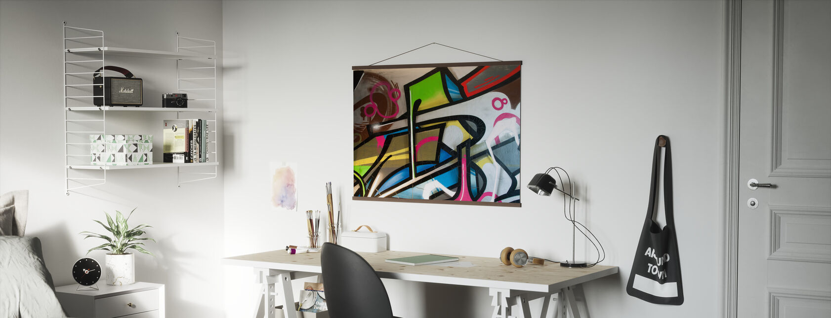 Colorful Graffiti - Poster - Office