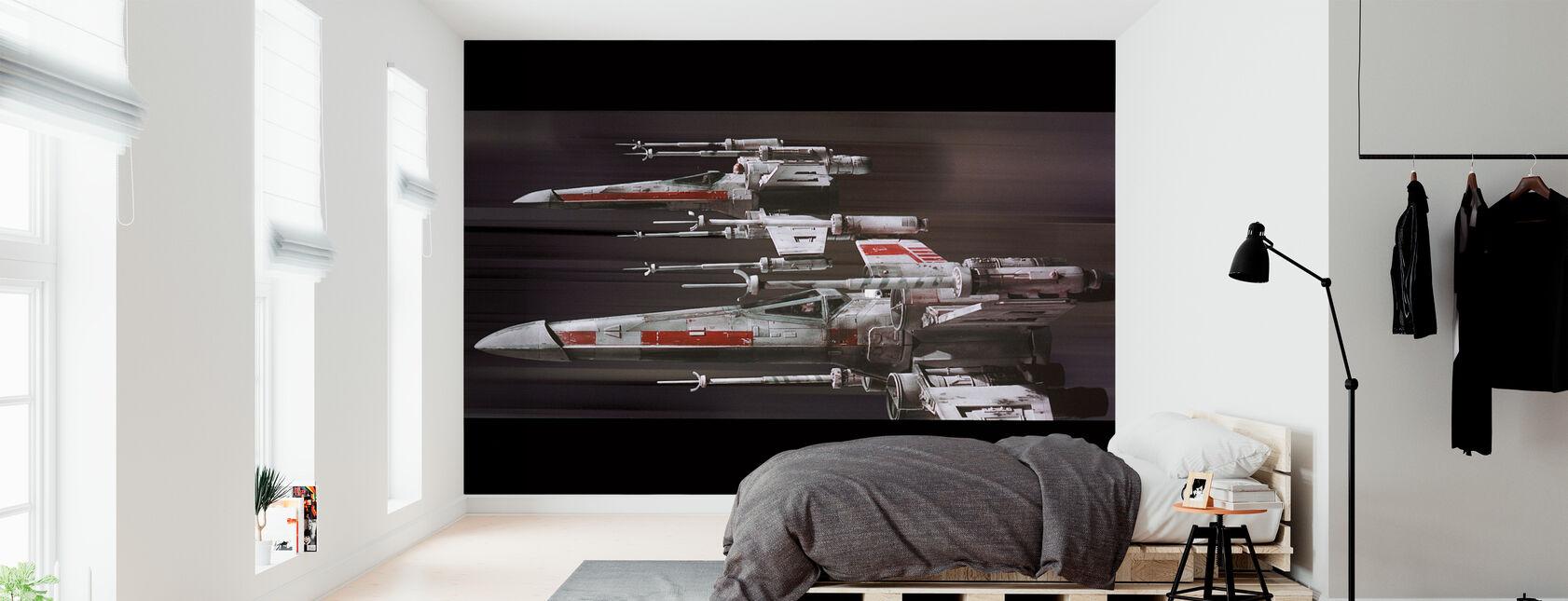 Star Wars - X-vinge - Tapet - Soveværelse