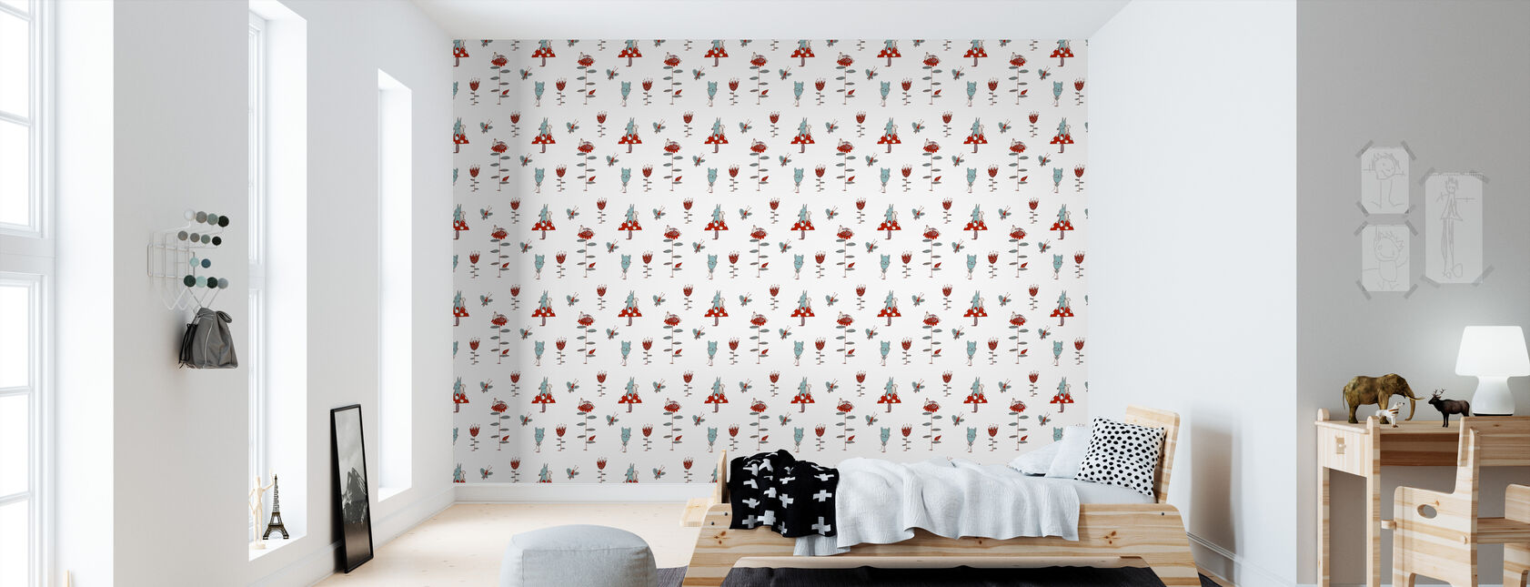 Lazybones - Wallpaper - Kids Room