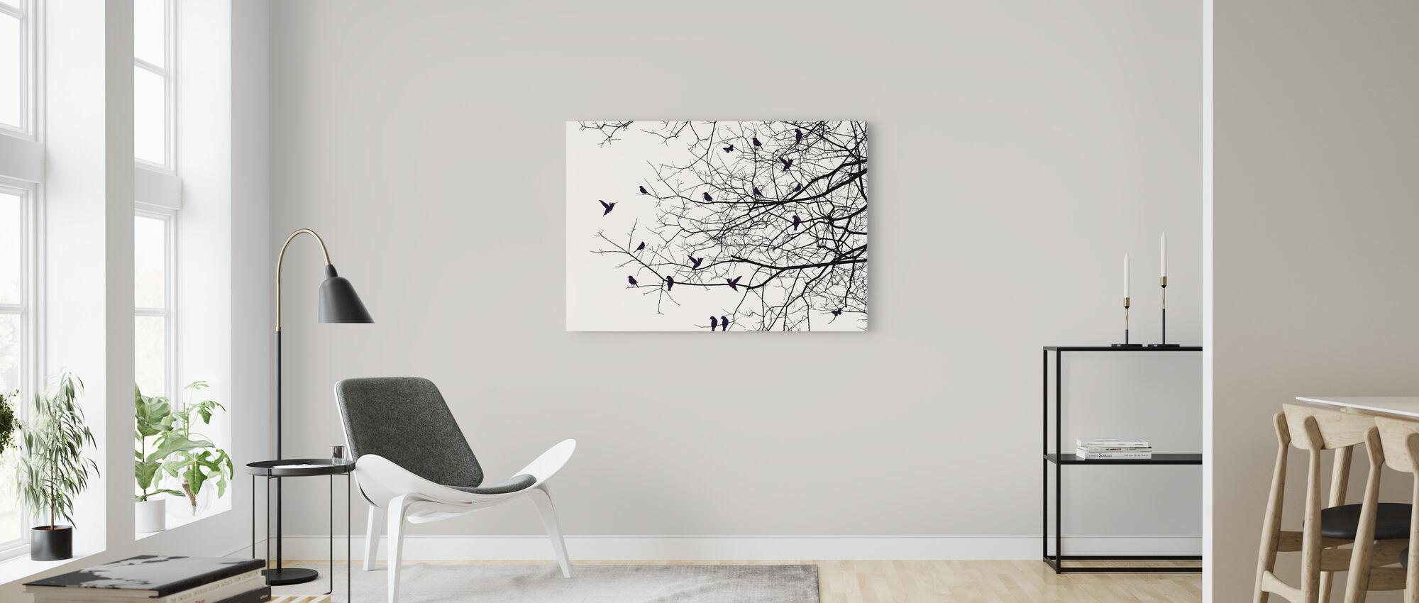 Shadowplay - Canvas print - Living Room
