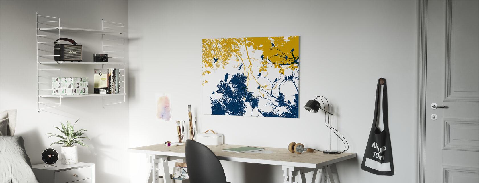 Silhouetto - Canvas print - Kids Room