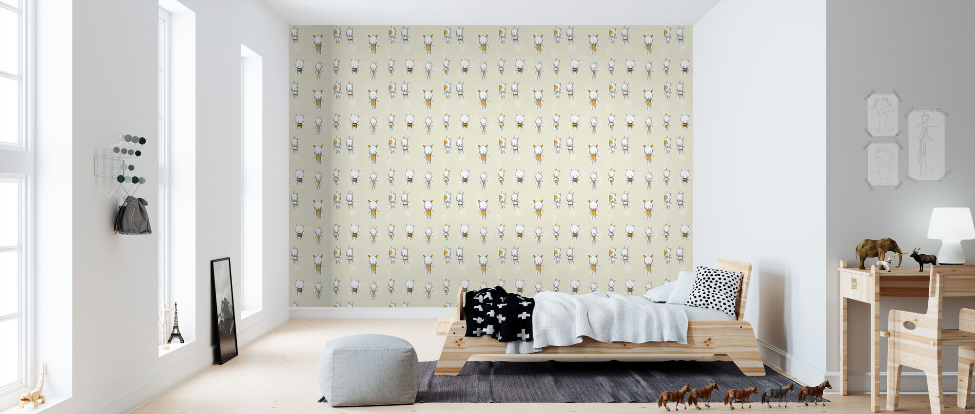 Bear With Me - Wallpaper - Kids Room