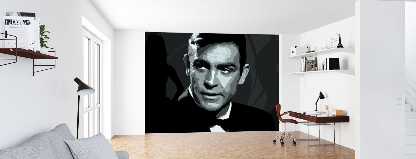 Bond - Tapet - Kontor