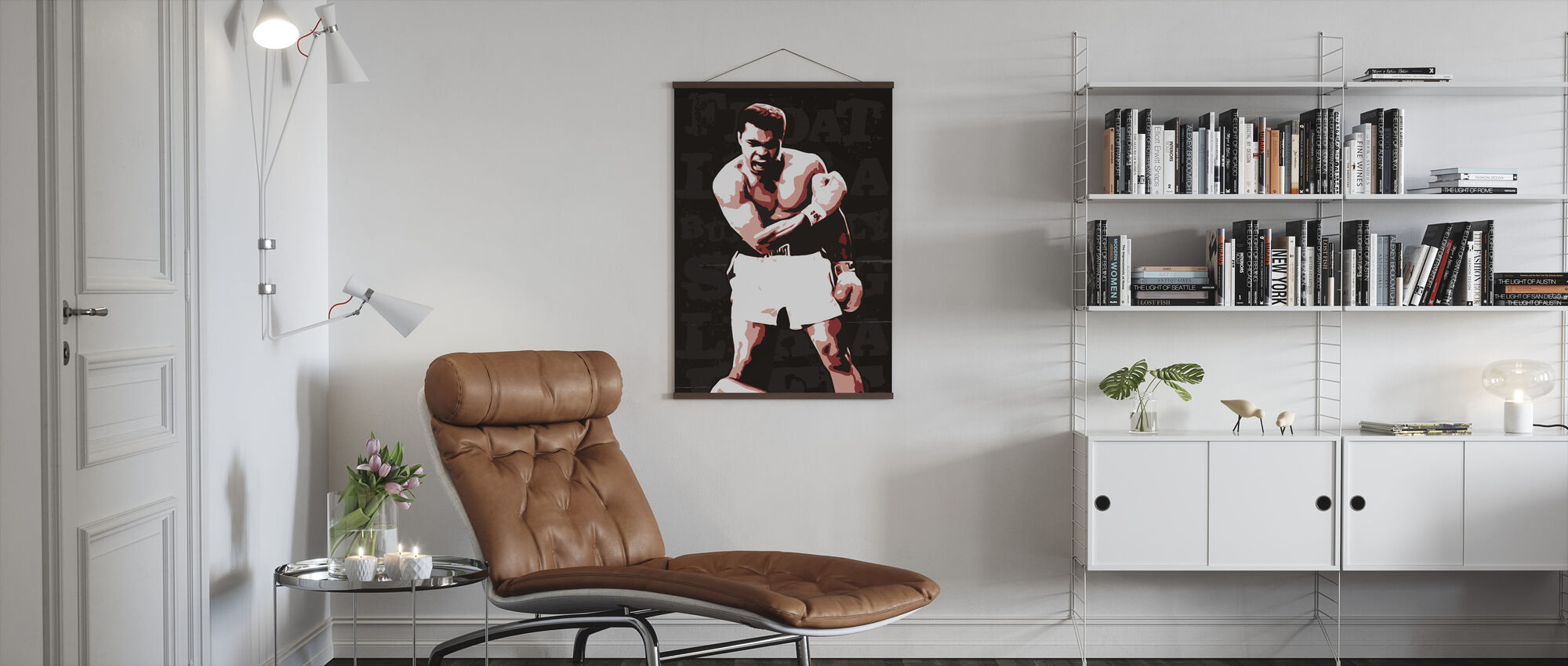 Ali - Poster - Living Room