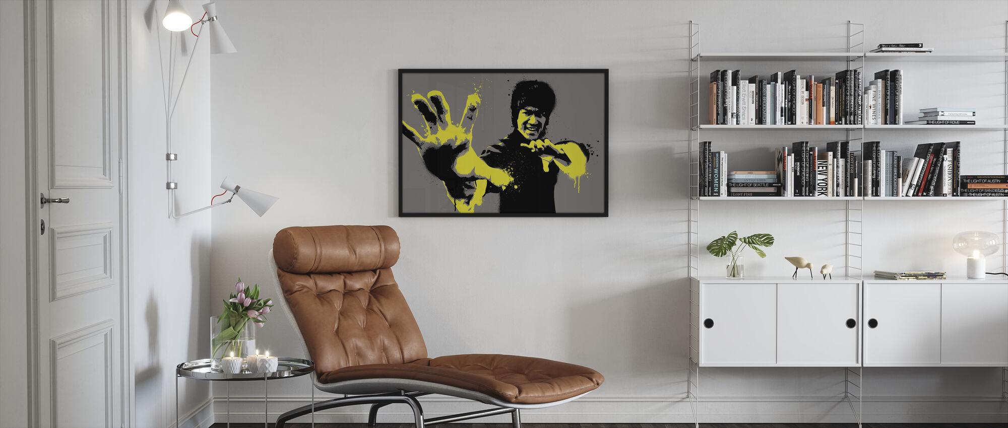 Bruce - Framed print - Living Room