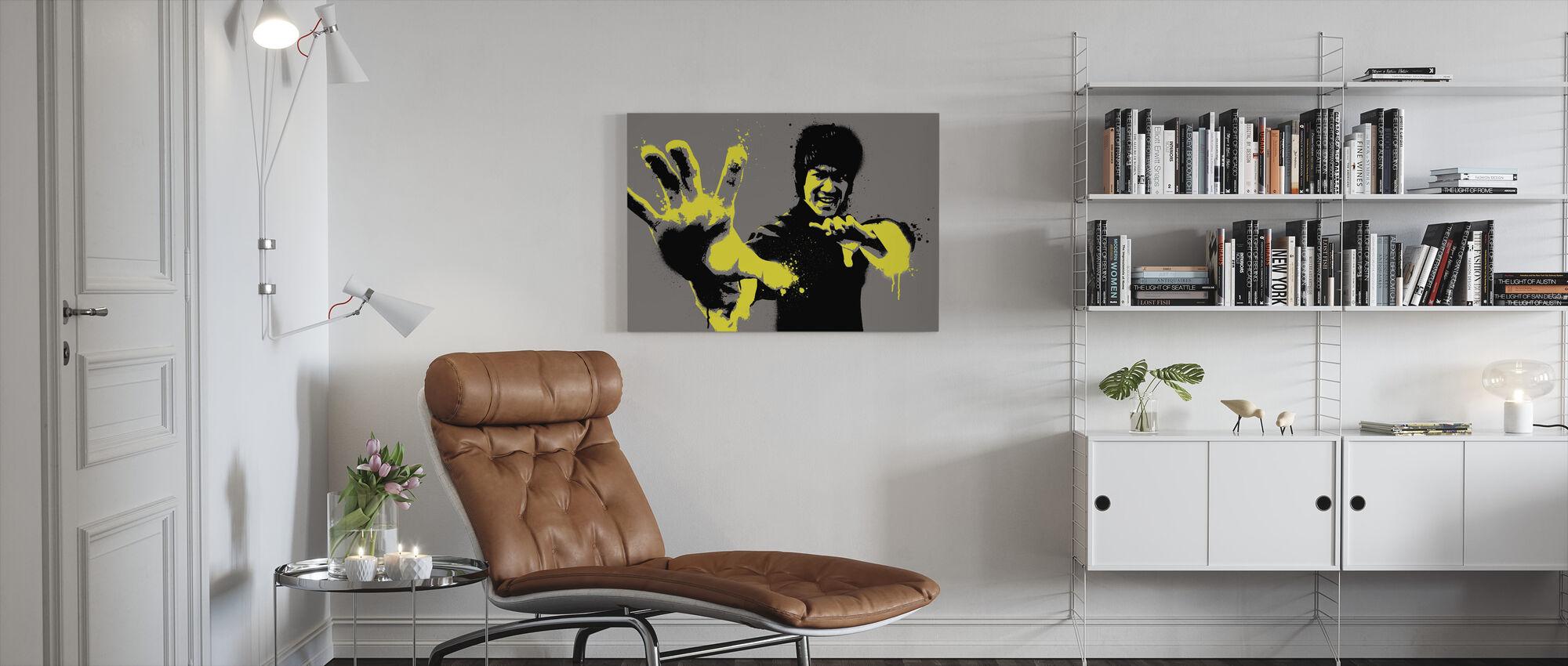 Bruce - Canvas print - Living Room