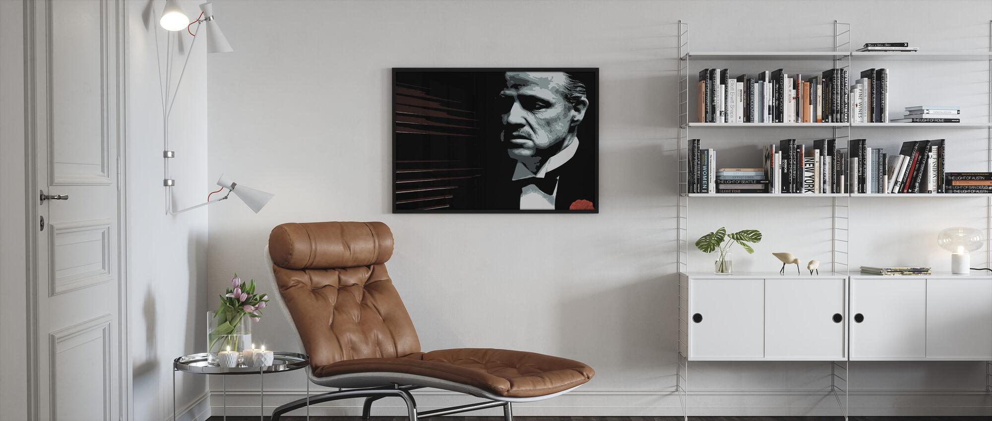 Don Vito - Framed print - Living Room