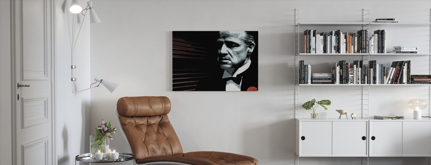 Don Vito - Canvastavla - Vardagsrum