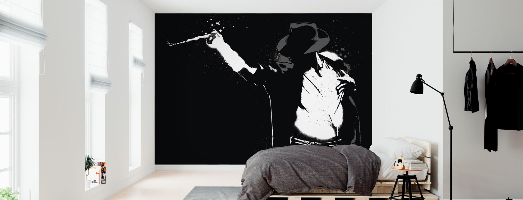 Jackson - Wallpaper - Bedroom