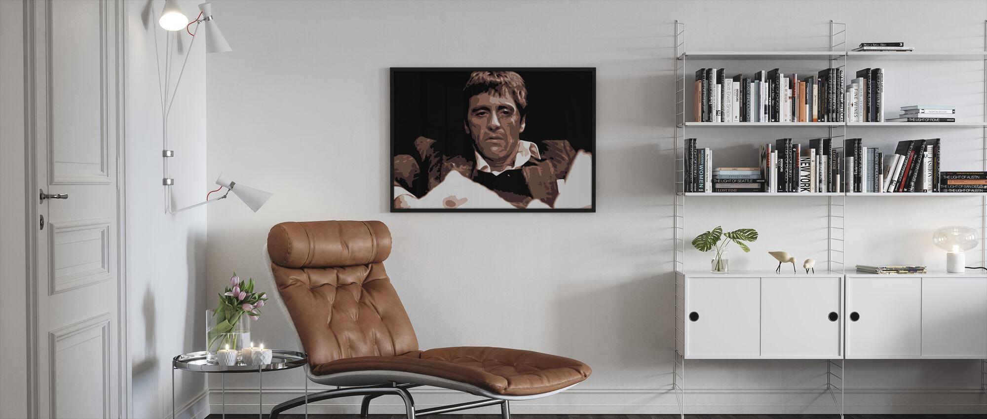 Montana - Framed print - Living Room