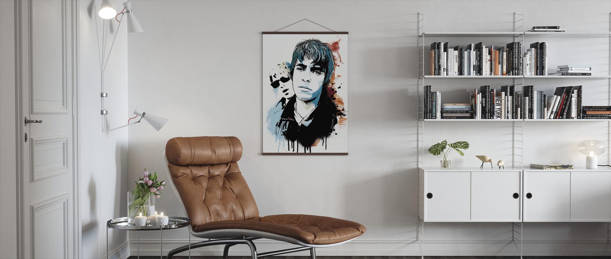 Wonderwall - Poster - Living Room