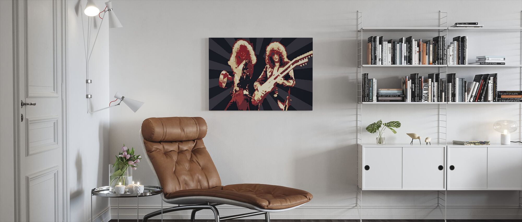 P and P - Canvas print - Living Room