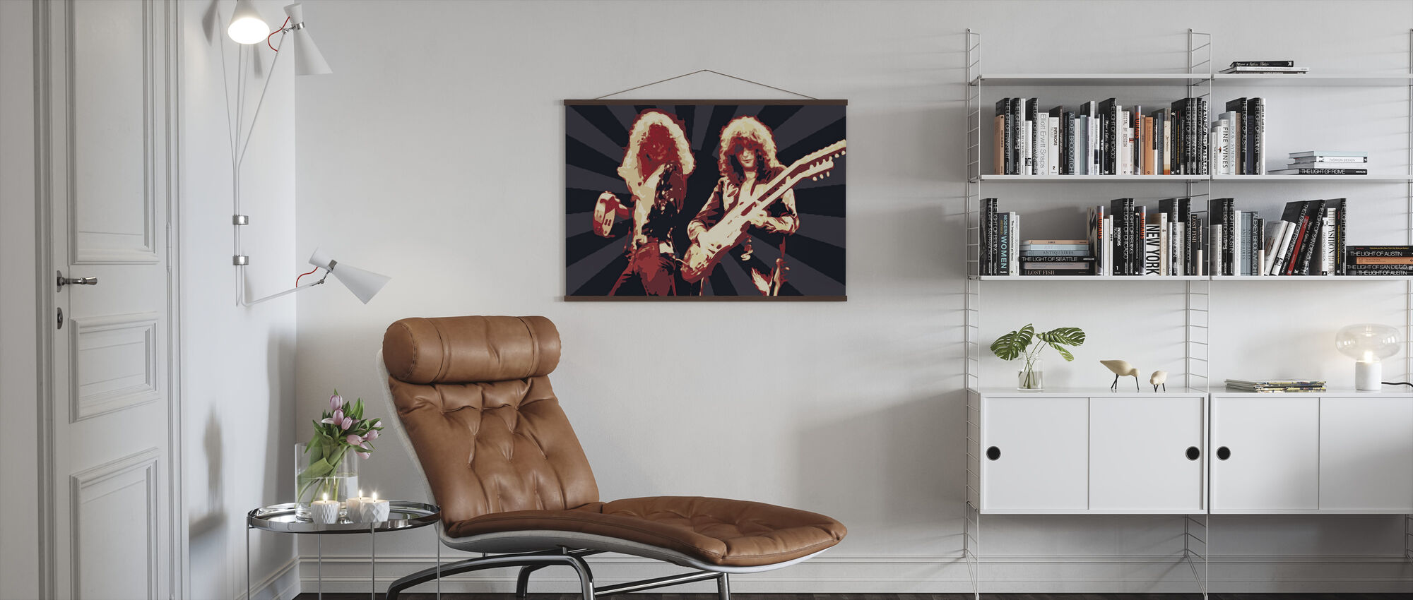 P and P - Poster - Living Room