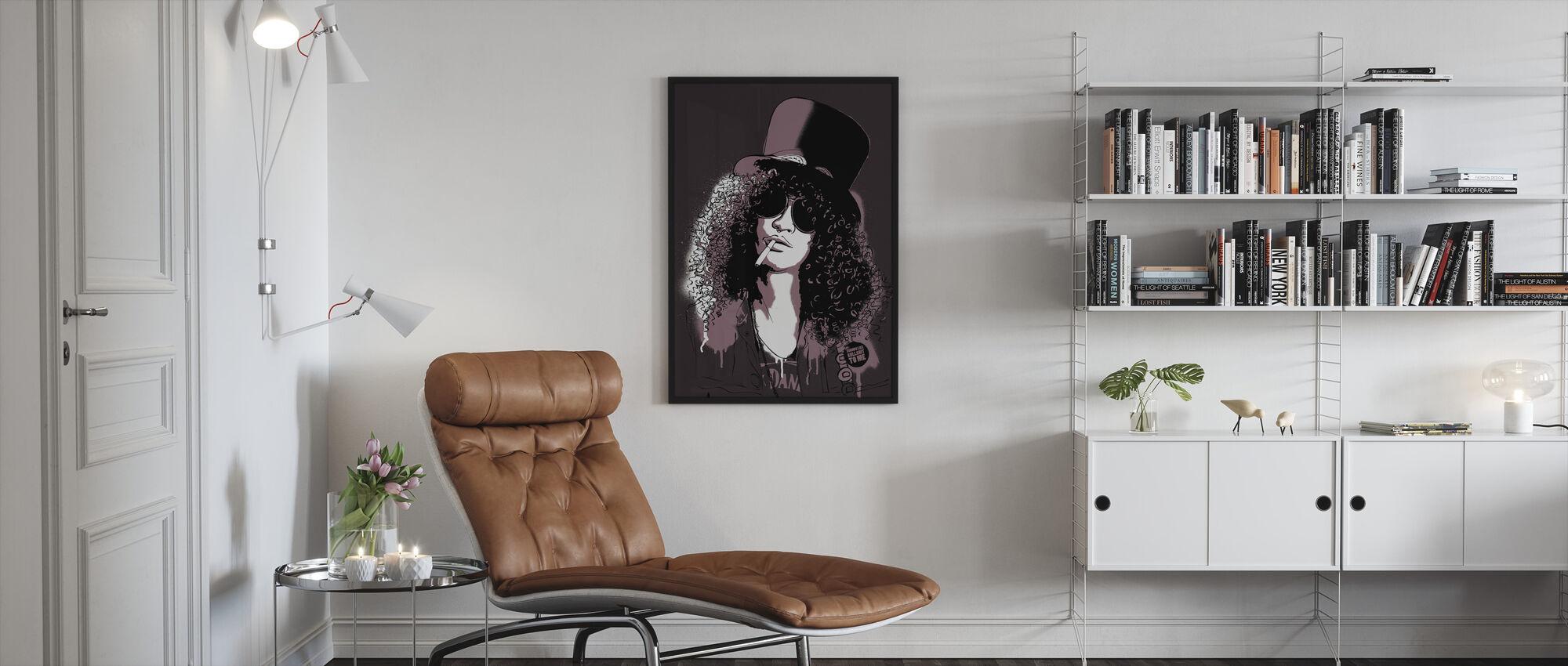 Saul - Framed print - Living Room