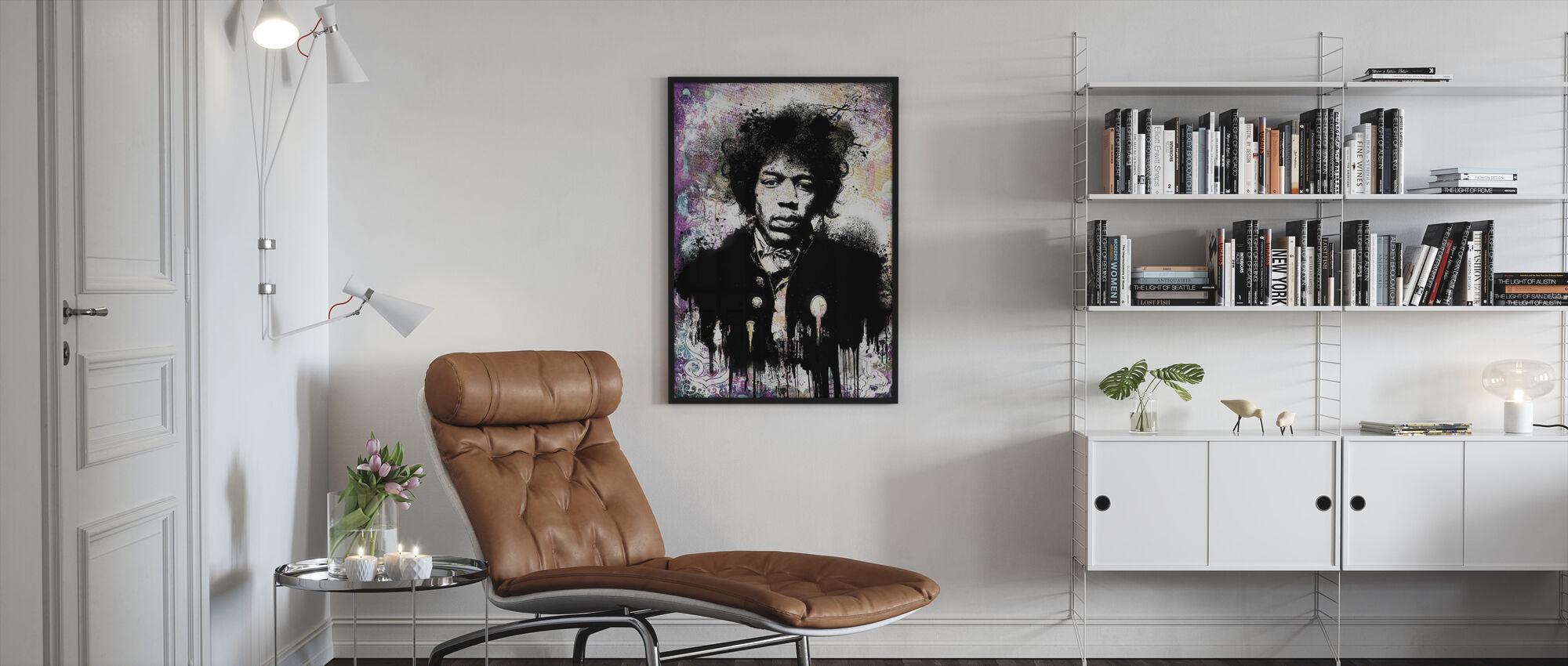 Touch the Sky - Framed print - Living Room