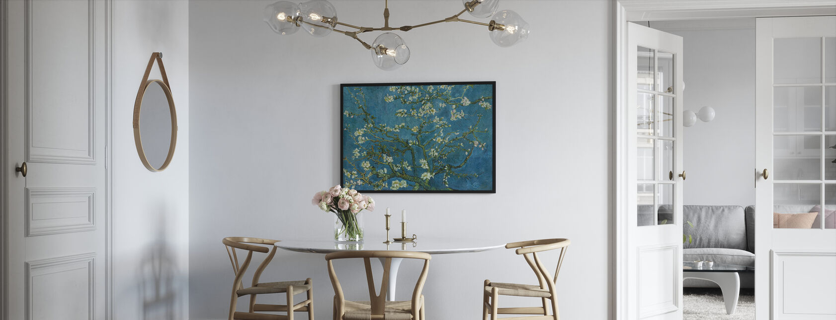 Almond Blossom - Framed print - Kitchen