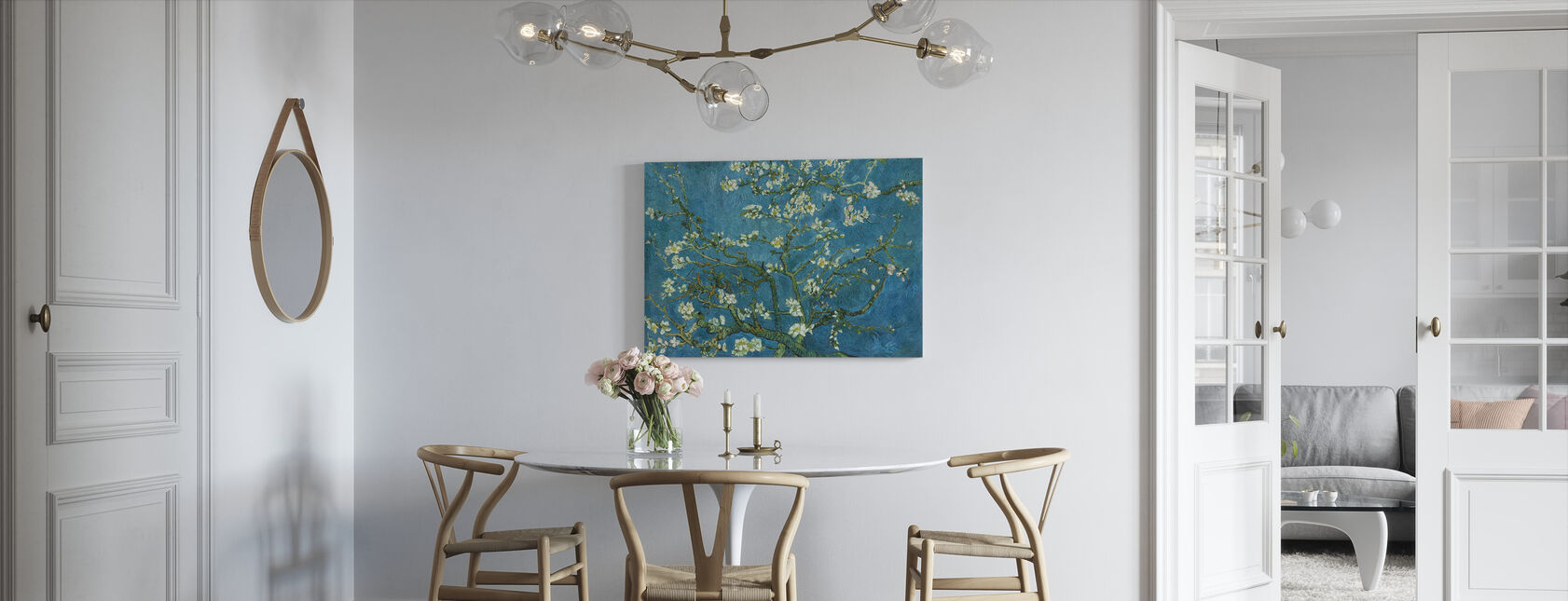Almond Blossom - Canvas print - Kitchen