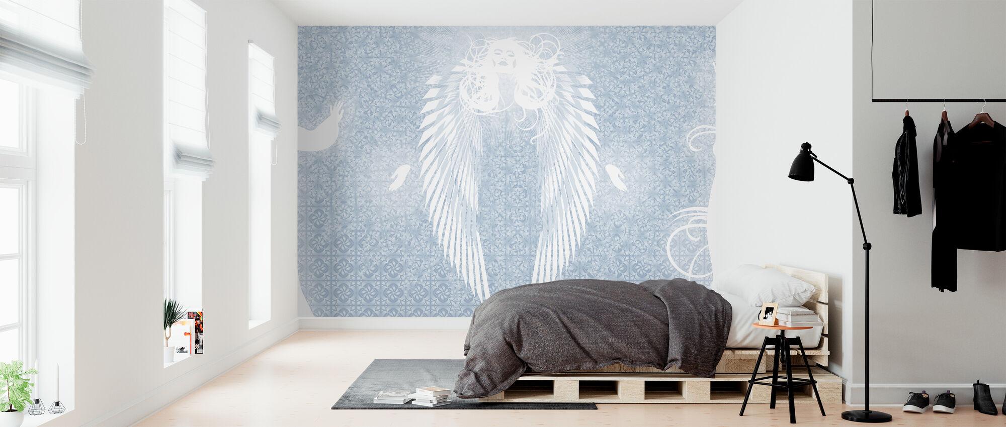Birgit Amadori - Metatron - Tapete - Schlafzimmer