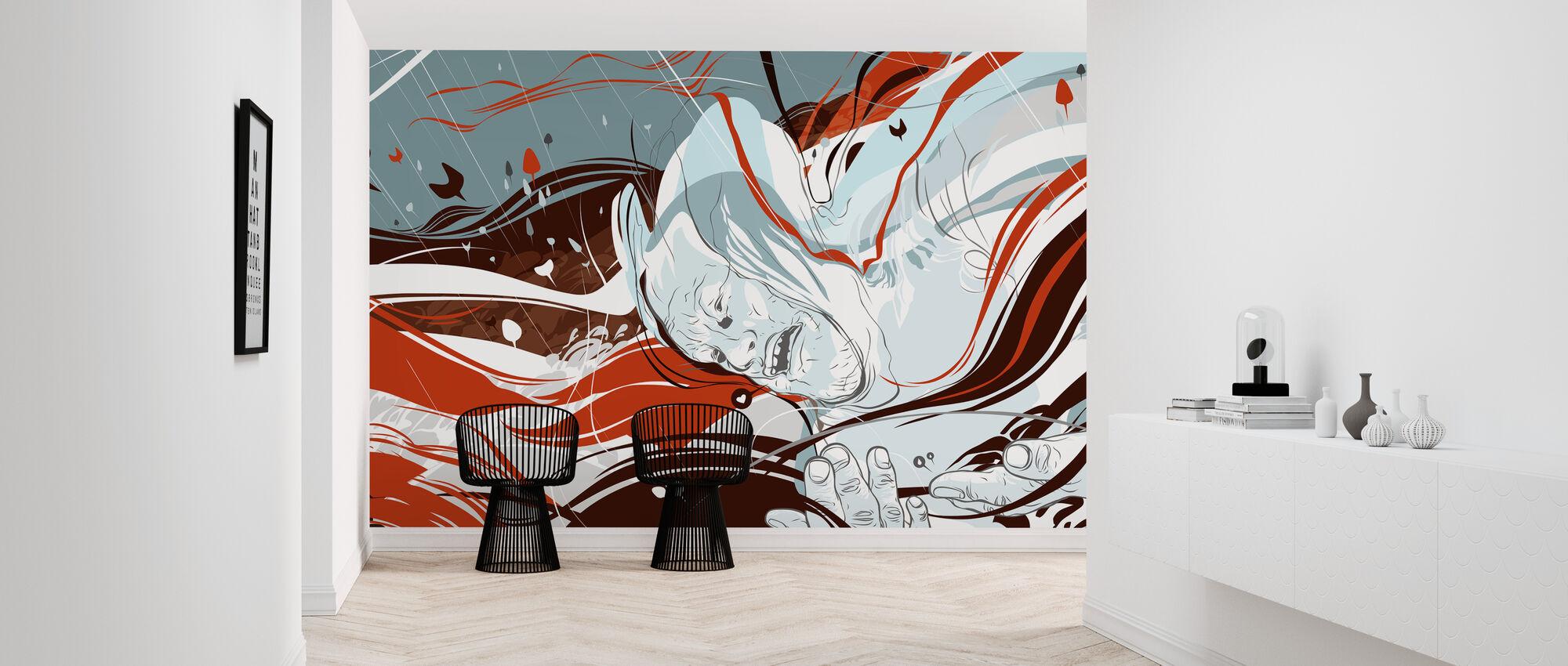 Destroy Rockcity - Current - Wallpaper - Hallway