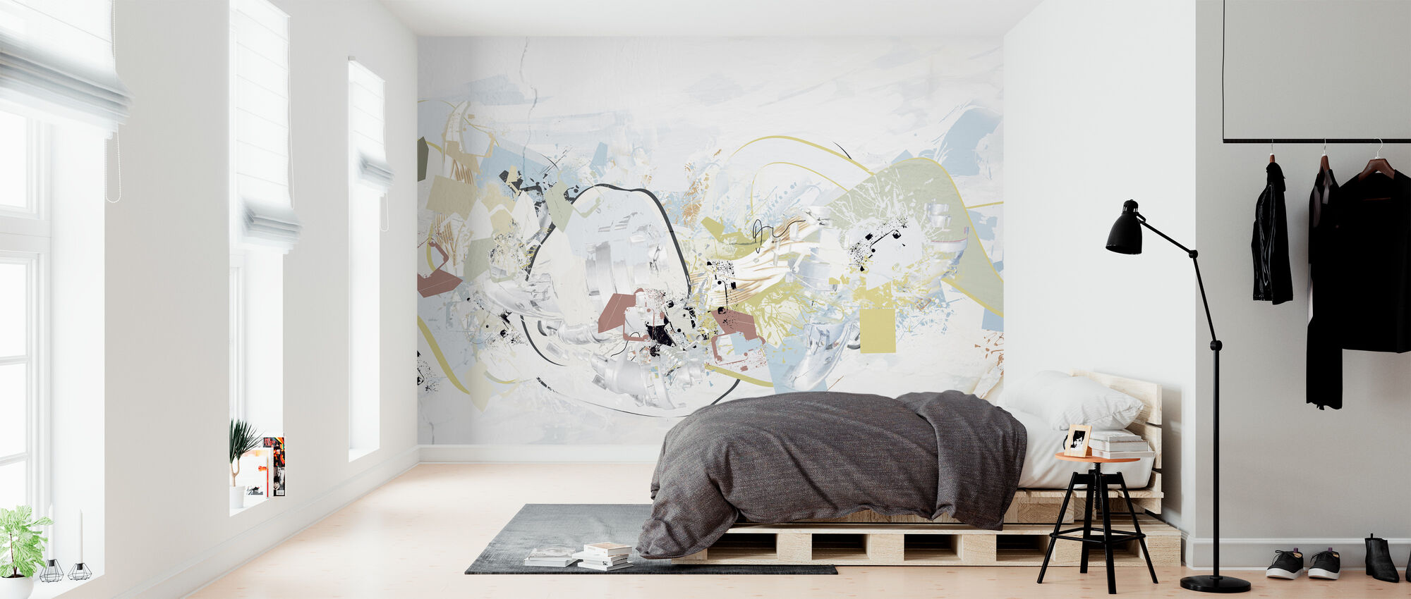 Roberto Marras - Kyara I Pastel - Wallpaper - Bedroom