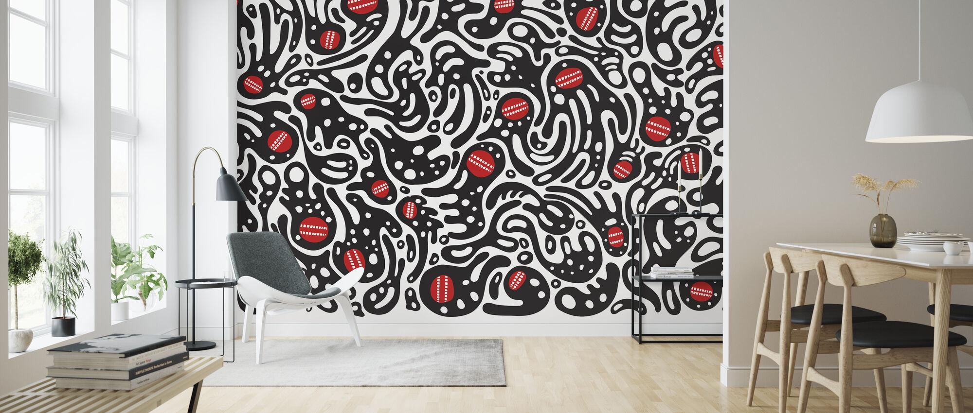 Nakamura Motomichi - DT Wall2 - Wallpaper - Living Room