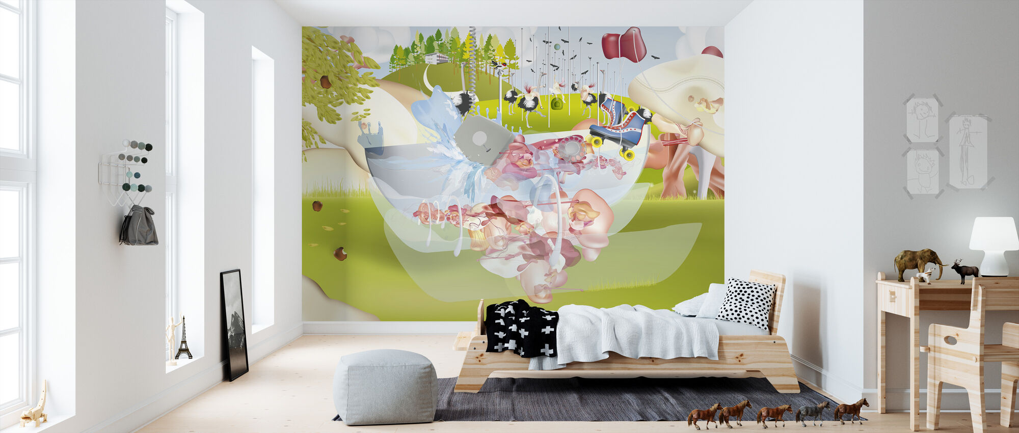 Landscape 2 - Wallpaper - Kids Room