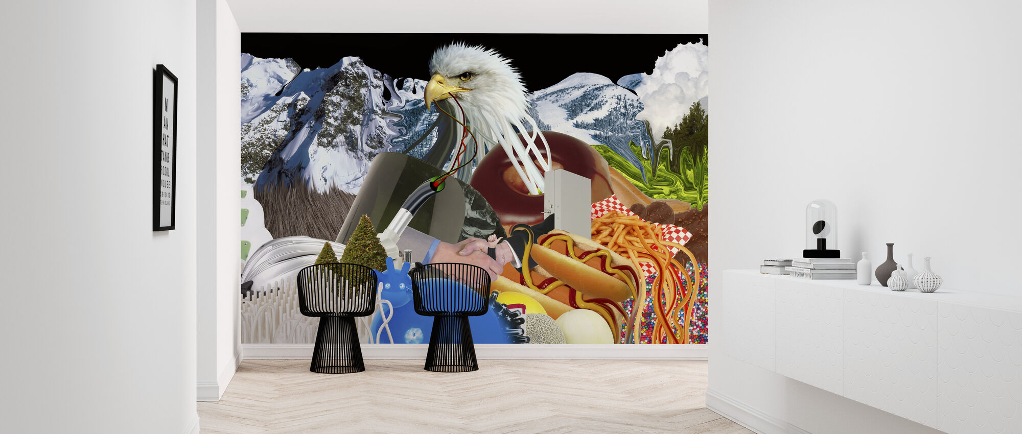 Universal Everything - Eaglemountain - Wallpaper - Hallway