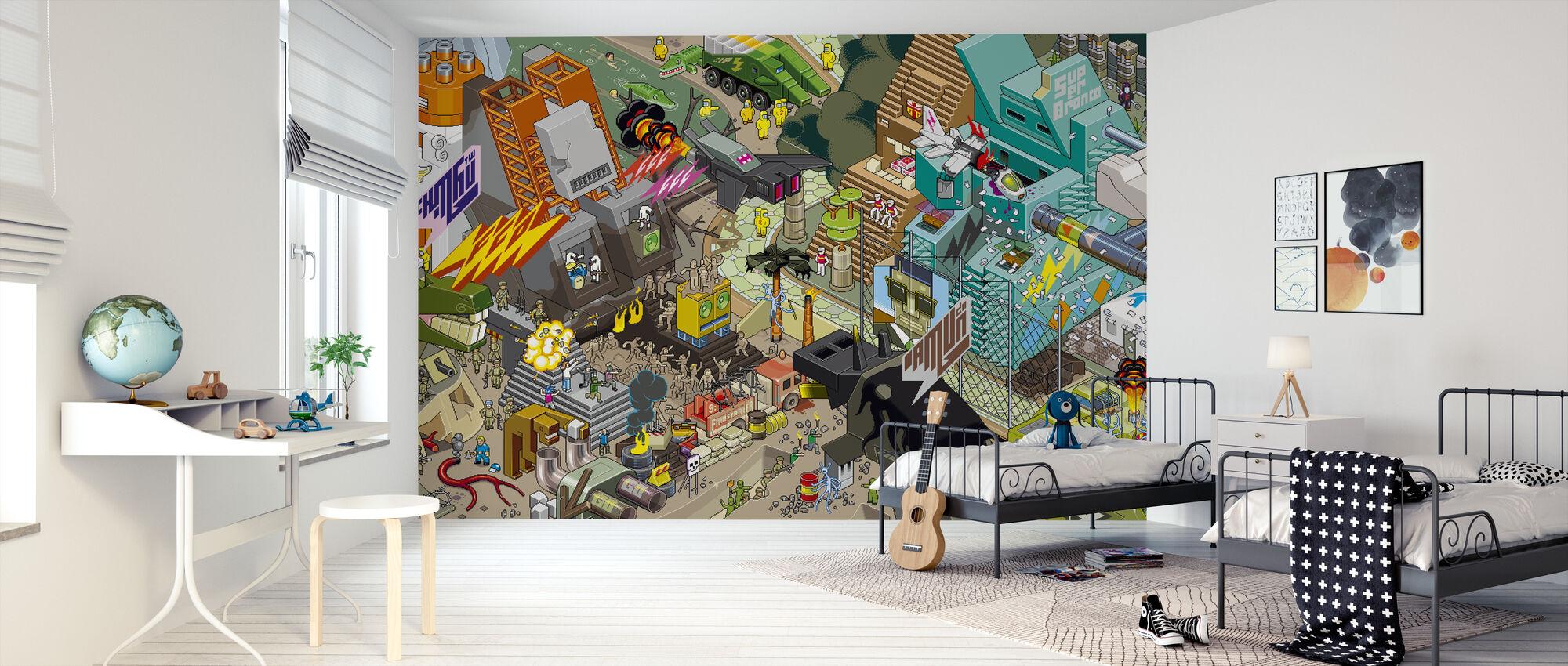 eBoy - Mxl Inka - Wallpaper - Kids Room