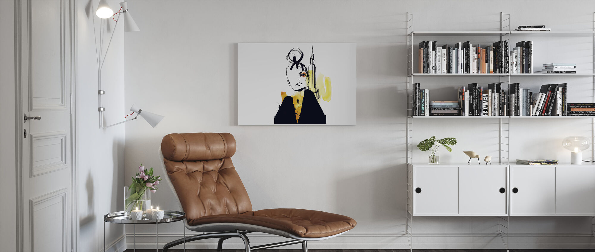 New York - Canvas print - Living Room