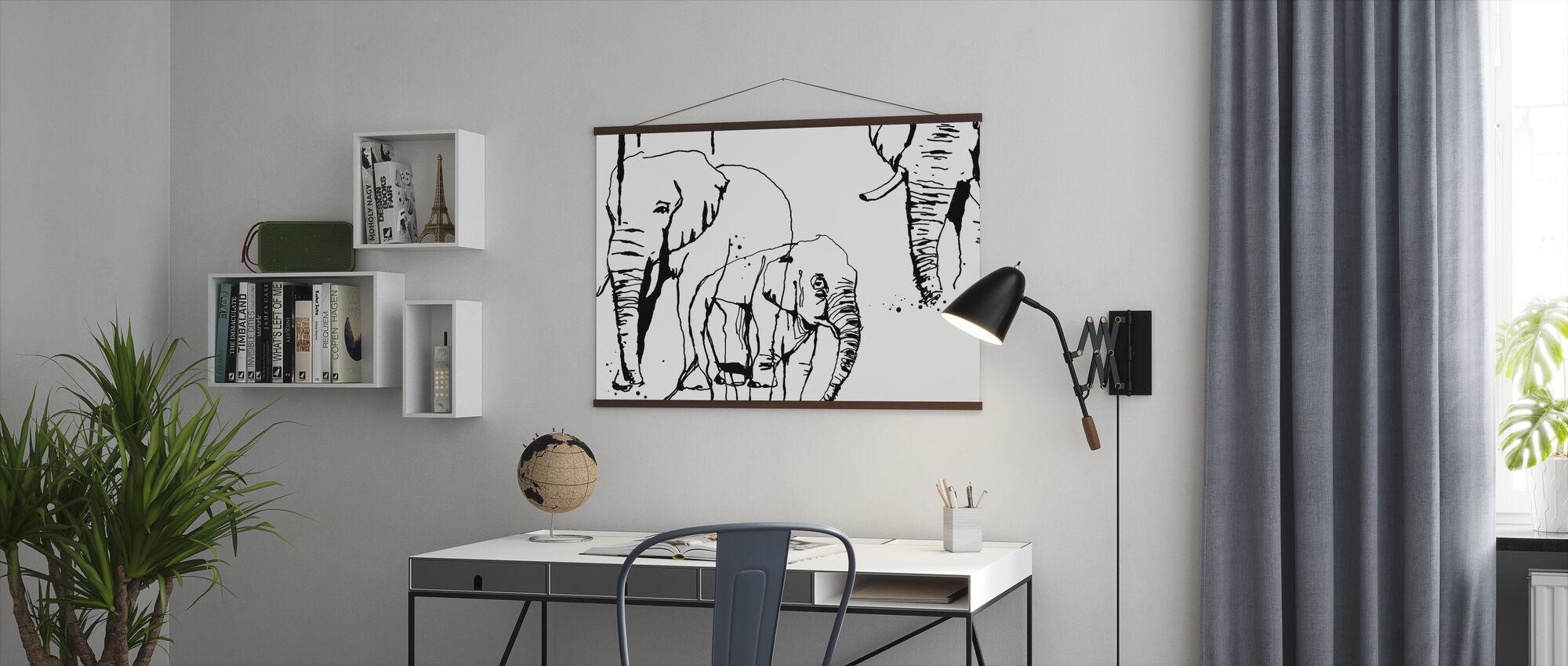 Elefant - Plakat - Kontor