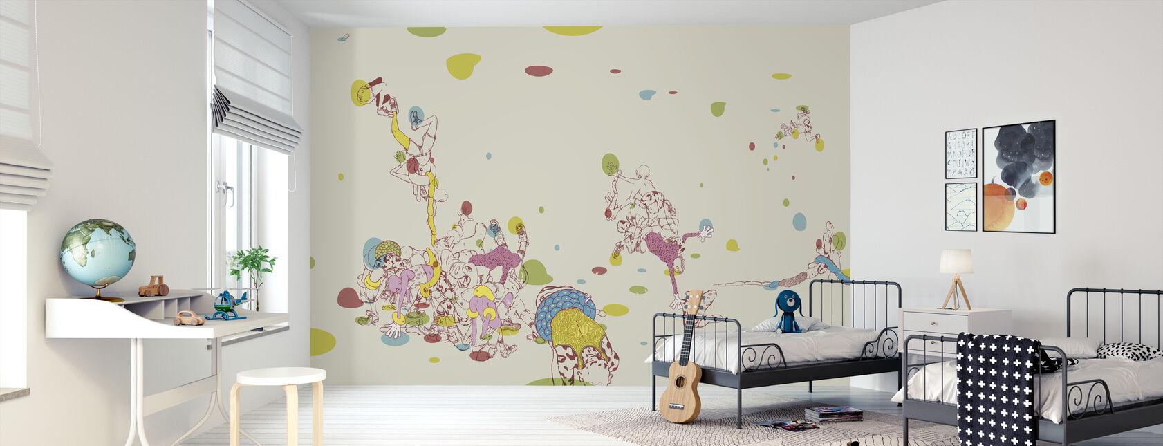 Hip Twist - Wallpaper - Kids Room