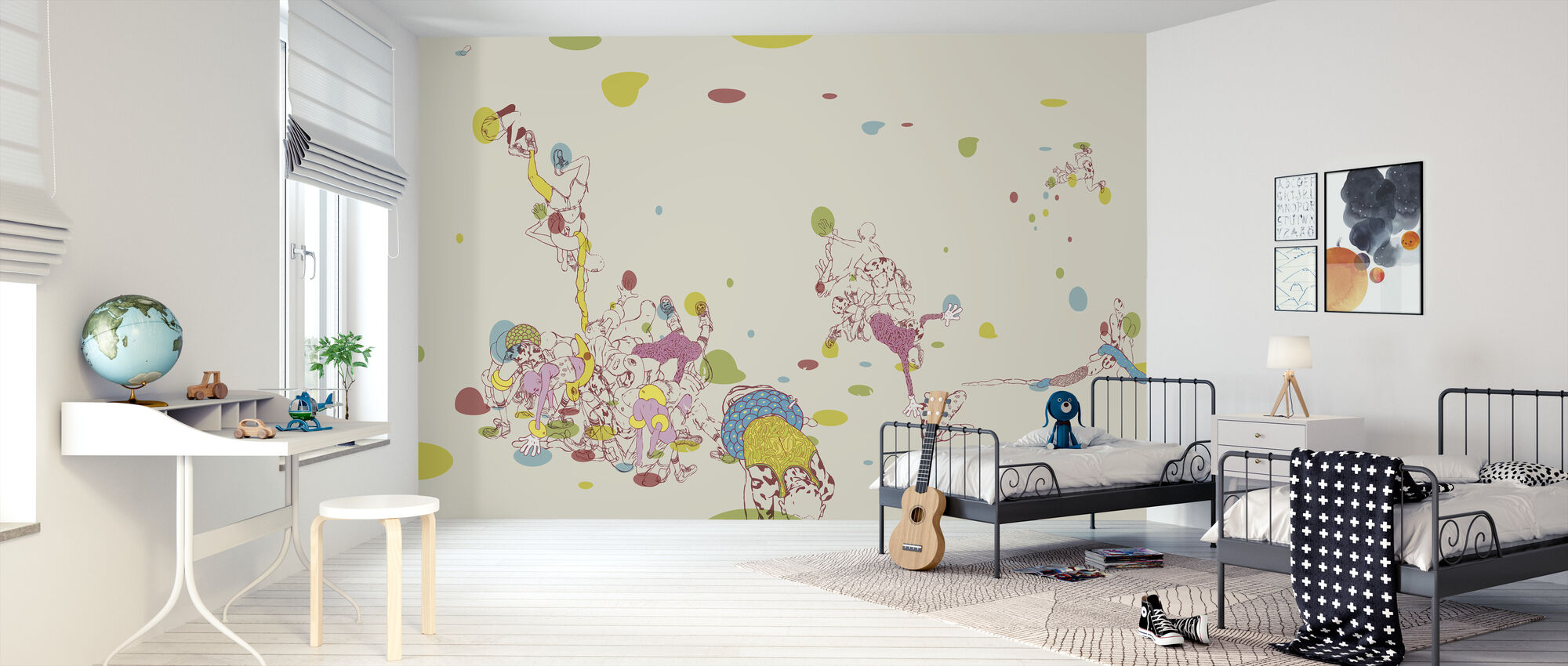 Hip Twist - Wallpaper - Kids Room