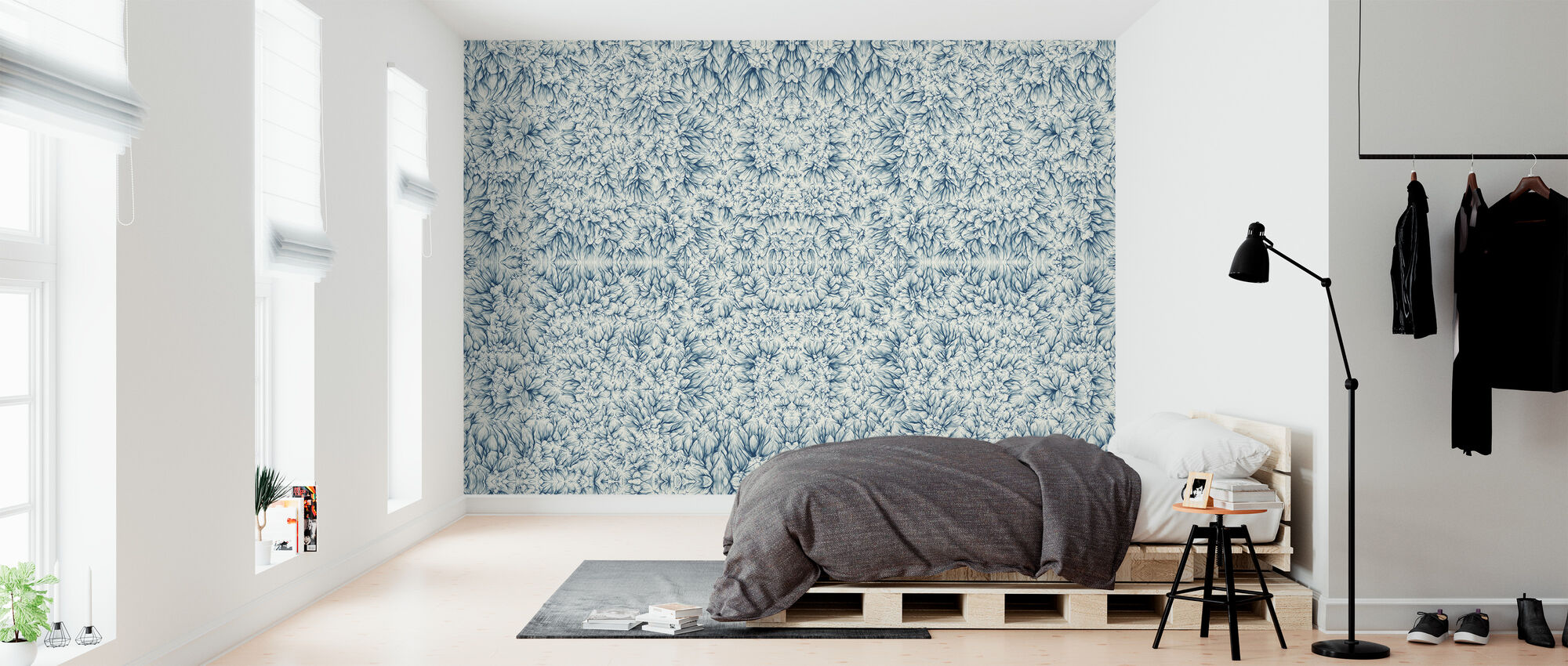Banas Neil - Rain - Wallpaper - Bedroom