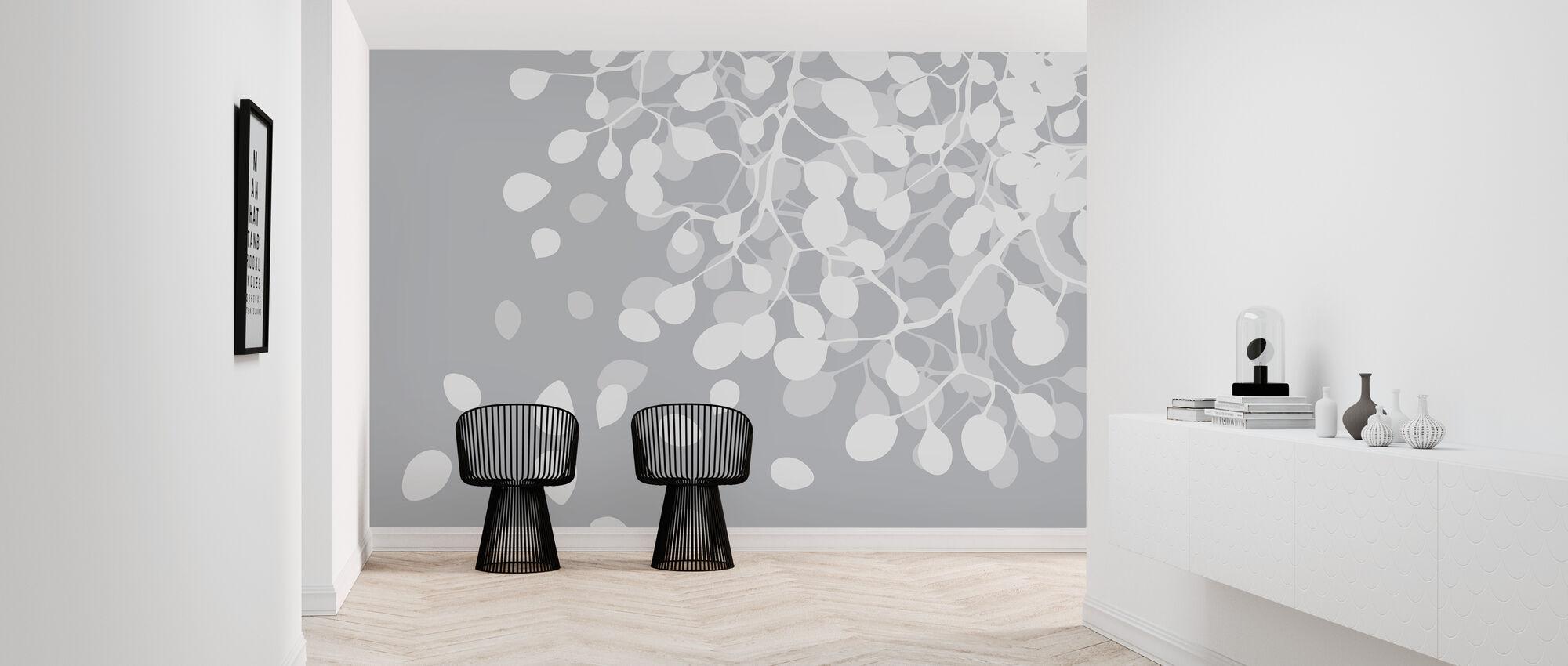 Birch Asphalt - Wallpaper - Hallway