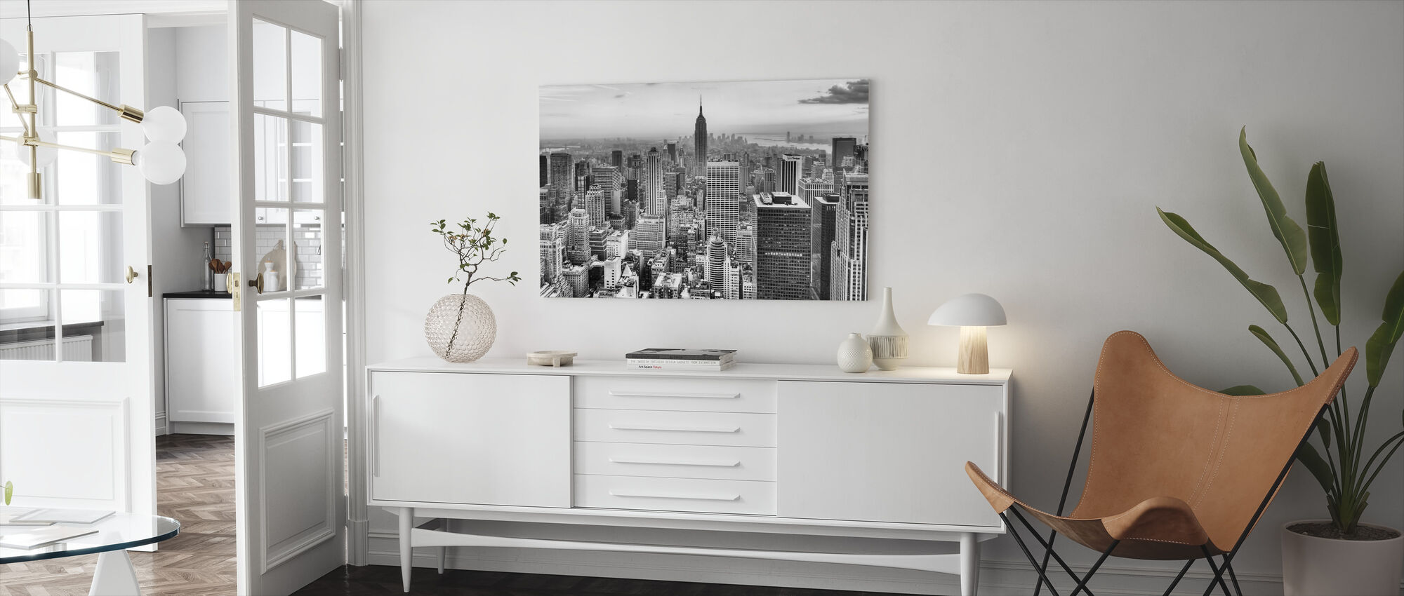 New York City 3 - Lerretsbilde - Stue