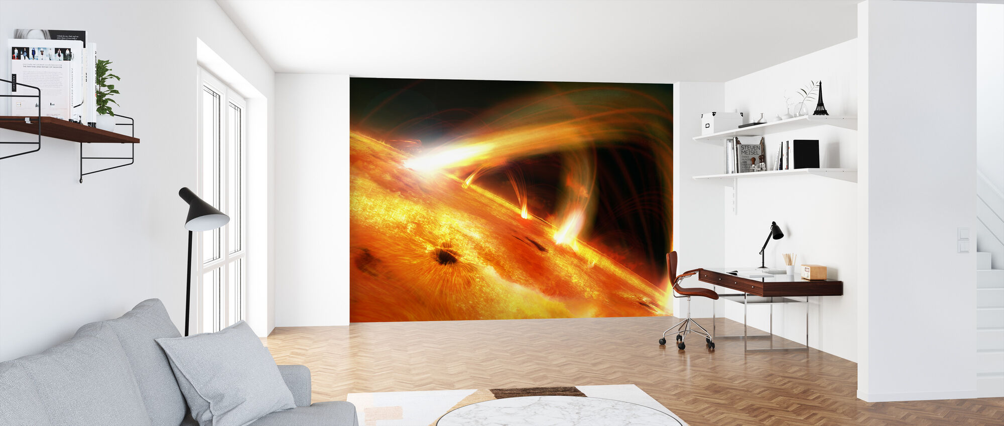 Sun Flares - Wallpaper - Office