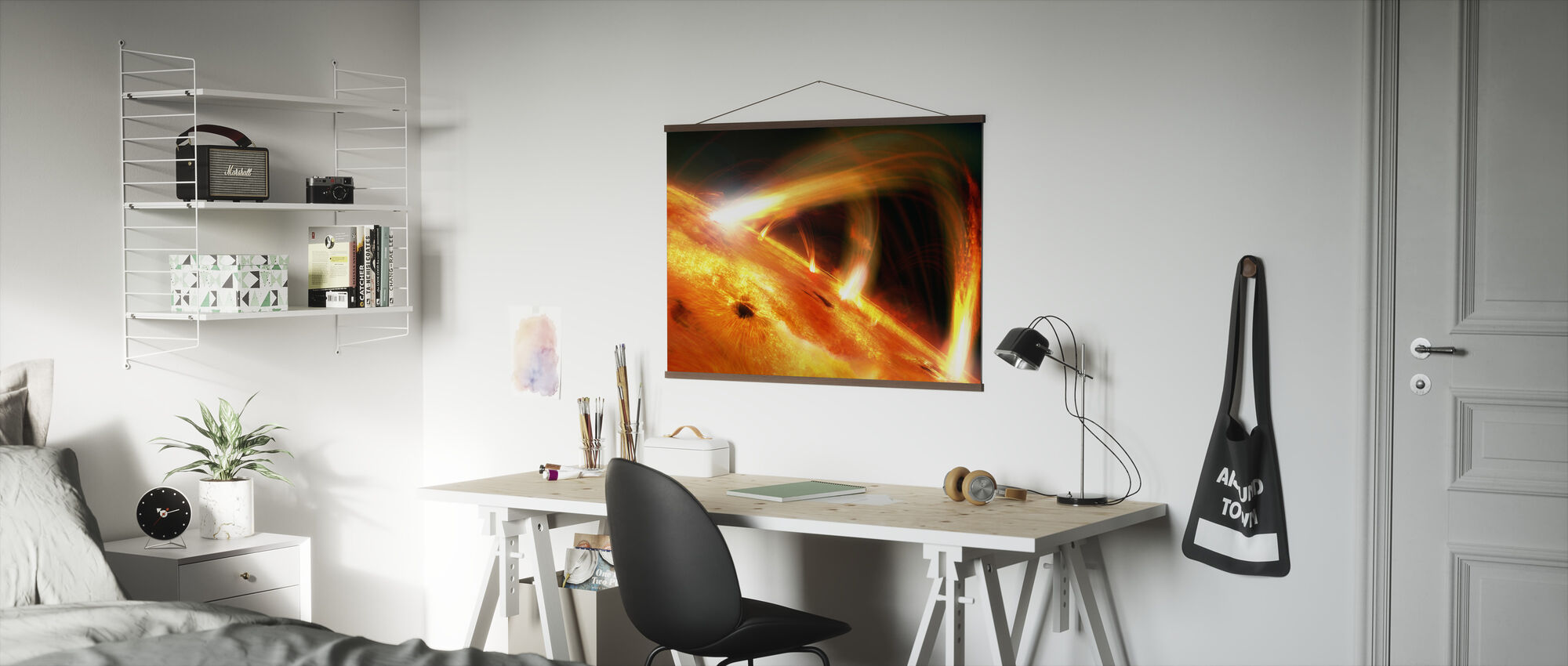 Sun Flares - Poster - Office