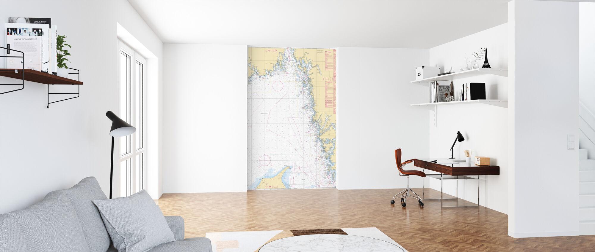 Sea Chart 93 - Skagerrak - Wallpaper - Office