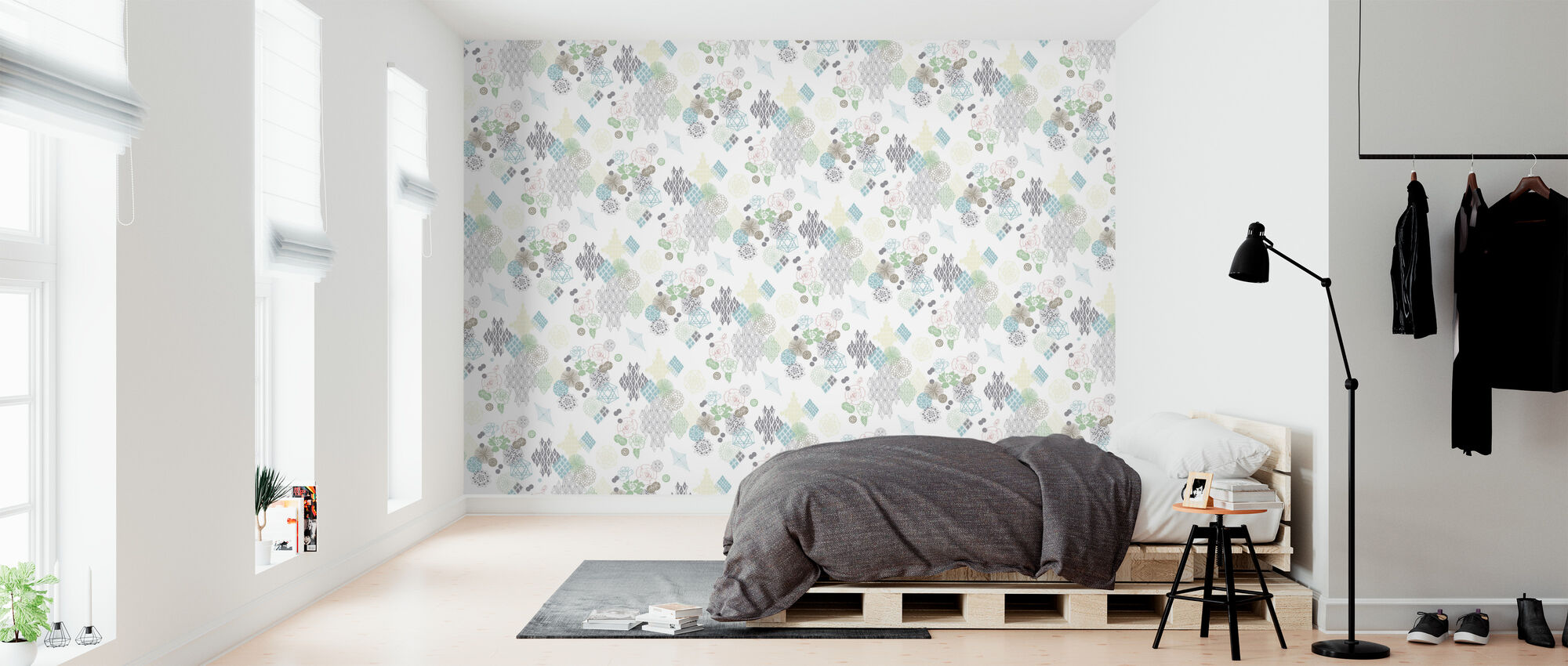 The English Rose - Wallpaper - Bedroom