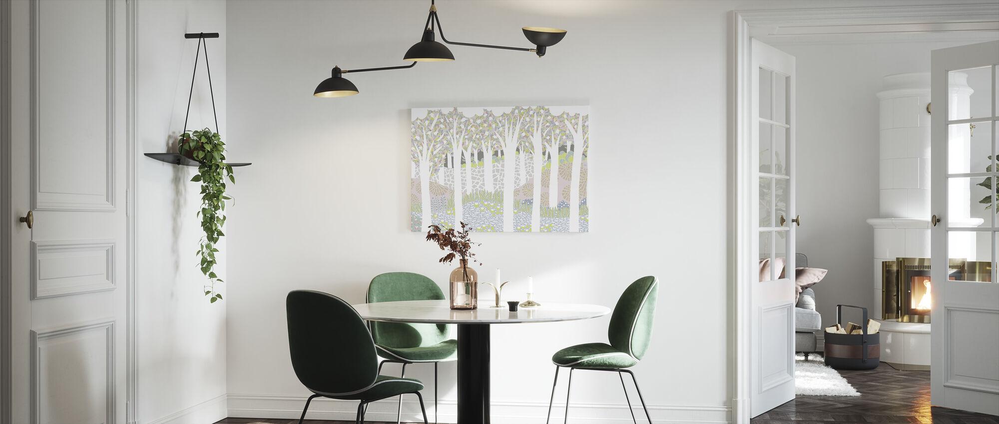 Bird Forest - Canvas print - Kitchen