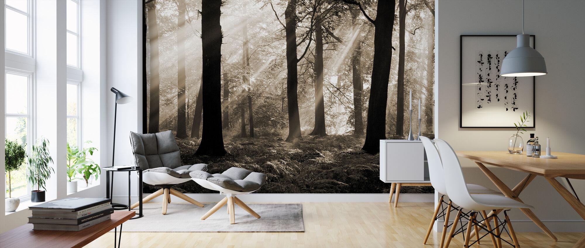 August Morning - Wallpaper - Living Room
